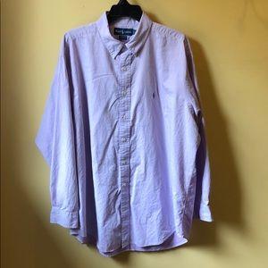 """Men's Ralph Lauren dress shirt size 17 1/2"""""""